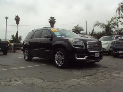 2013 GMC Acadia for sale in Whittier, CA