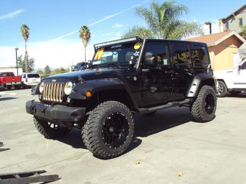 2014 Jeep Wrangler Unlimited for sale in Whittier, CA