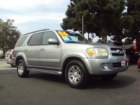 2006 Toyota Sequoia for sale in Whittier, CA