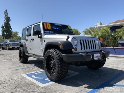 2010 Jeep Wrangler Unlimited for sale in Whittier, CA