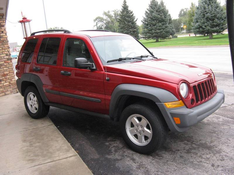 2007 Jeep Liberty Sport 4dr SUV 4WD   Rapid City SD