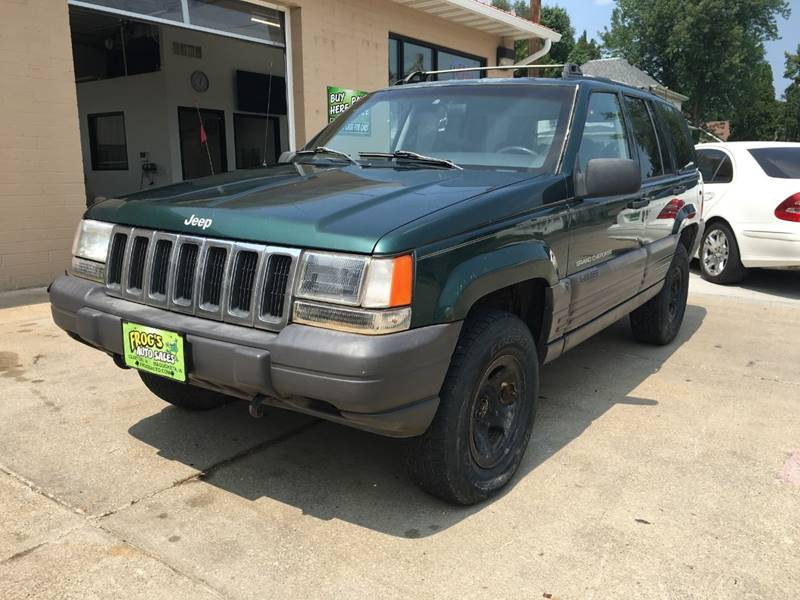 1997 Jeep Grand Cherokee For Sale At Frogs Auto Sales Maquoketa In  Maquoketa IA