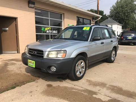 2003 Subaru Forester for sale in Maquoketa, IA