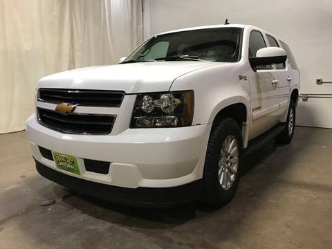 2008 Chevrolet Tahoe Hybrid for sale at Frogs Auto Sales in Clinton IA