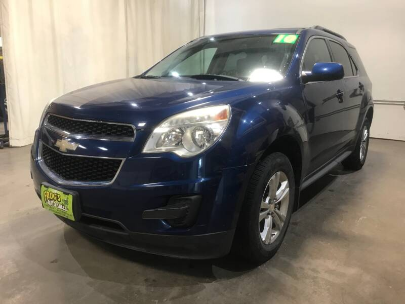 2010 Chevrolet Equinox for sale at Frogs Auto Sales in Clinton IA