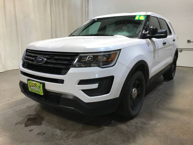 2016 Ford Explorer for sale at Frogs Auto Sales in Clinton IA