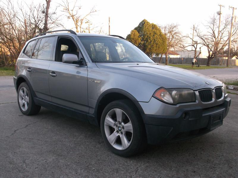2004 Bmw X3 AWD 3.0i 4dr SUV In Garland TX - Pary\'s Auto Sales