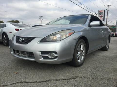 2007 Toyota Camry Solara for sale at Pary's Auto Sales in Garland TX