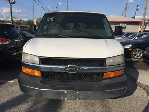 2007 Chevrolet Express Passenger for sale in Garland, TX