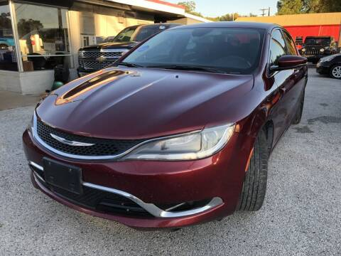 2015 Chrysler 200 for sale at Pary's Auto Sales in Garland TX