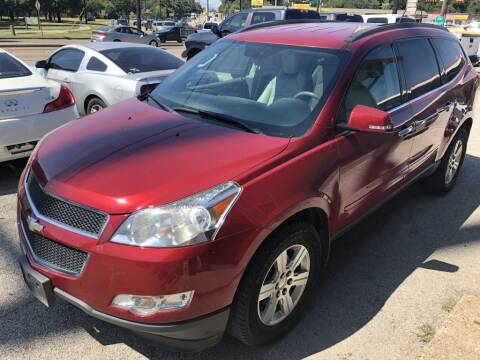 2012 Chevrolet Traverse for sale at Pary's Auto Sales in Garland TX