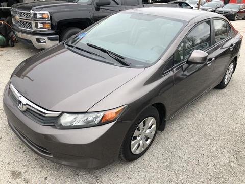 2012 Honda Civic for sale in Garland, TX