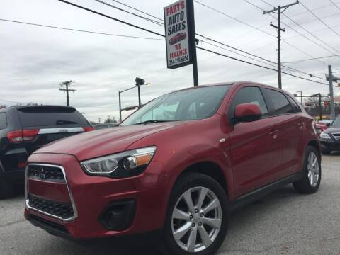 2013 Mitsubishi Outlander Sport for sale at Pary's Auto Sales in Garland TX