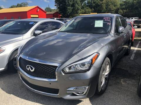 2015 Infiniti Q70 for sale at Pary's Auto Sales in Garland TX