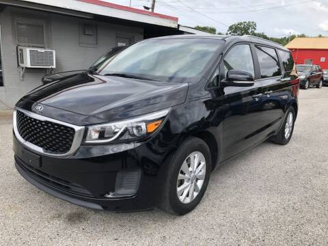 2015 Kia Sedona for sale at Pary's Auto Sales in Garland TX