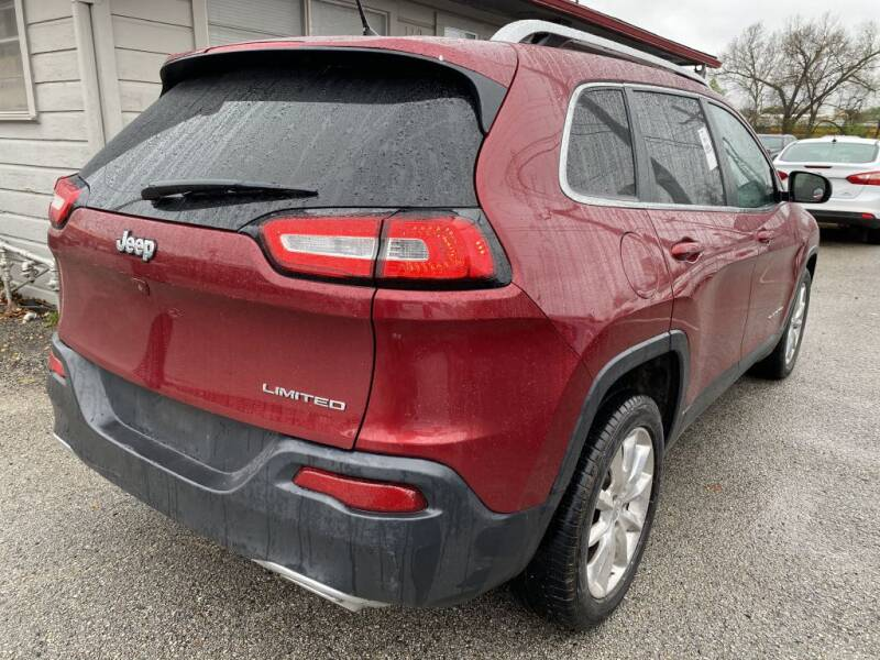 2015 Jeep Cherokee Limited (image 9)
