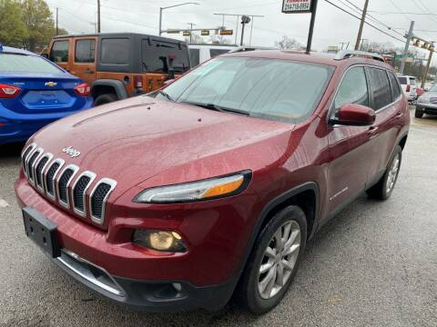 2015 Jeep Cherokee Limited for sale at Pary's Auto Sales in Garland TX