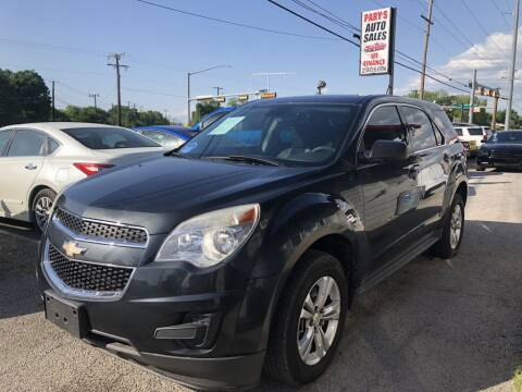 2013 Chevrolet Equinox LS for sale at Pary's Auto Sales in Garland TX