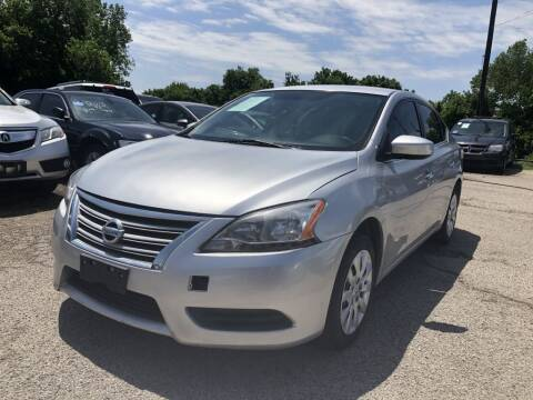 2015 Nissan Sentra S for sale at Pary's Auto Sales in Garland TX