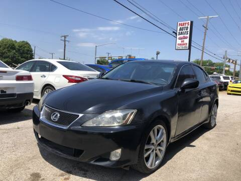 2006 Lexus IS 250 for sale at Pary's Auto Sales in Garland TX