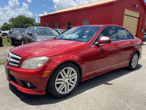2008 Mercedes-Benz C-Class for sale at Pary's Auto Sales in Garland TX