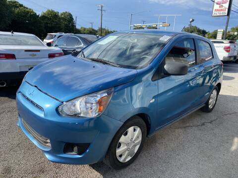 2015 Mitsubishi Mirage for sale at Pary's Auto Sales in Garland TX