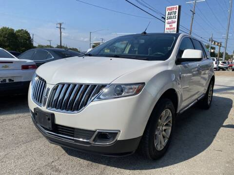 2011 Lincoln MKX for sale at Pary's Auto Sales in Garland TX