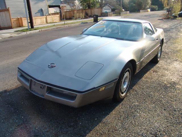 1985 Chevrolet Corvette for sale at M Motors in Shoreline WA