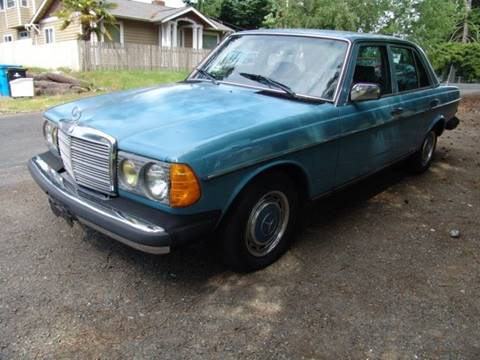 1982 Mercedes-Benz 240-Class for sale in Shoreline, WA