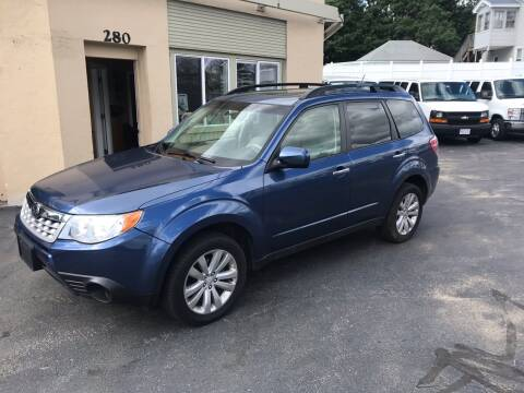 2013 Subaru Forester for sale at Autowright Motor Co. in West Boylston MA
