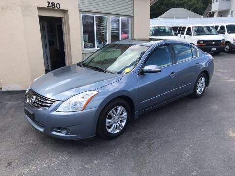 2010 Nissan Altima for sale at Autowright Motor Co. in West Boylston MA