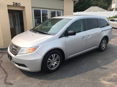 2013 Honda Odyssey for sale at Autowright Motor Co. in West Boylston MA