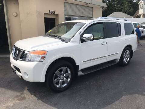 2012 Nissan Armada for sale at Autowright Motor Co. in West Boylston MA