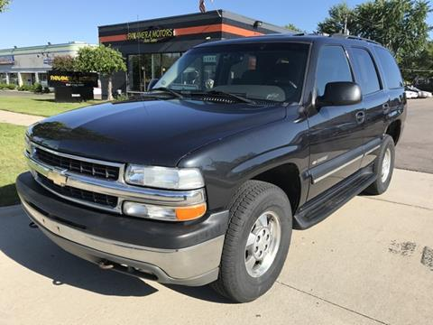 2003 Chevrolet Tahoe for sale at PANORAMA MOTORS in Livonia MI