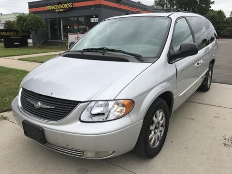 2003 Chrysler Town and Country for sale at PANORAMA MOTORS in Livonia MI