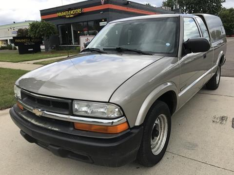 2002 Chevrolet S-10 for sale at PANORAMA MOTORS in Livonia MI