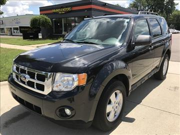 2011 Ford Escape for sale at PANORAMA MOTORS in Livonia MI