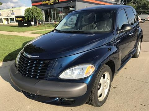 2001 Chrysler PT Cruiser for sale at PANORAMA MOTORS in Livonia MI