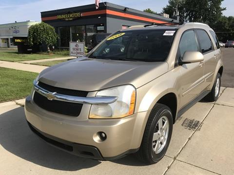 2008 Chevrolet Equinox for sale at PANORAMA MOTORS in Livonia MI