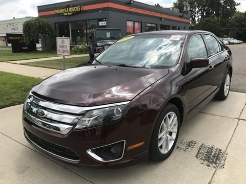 2012 Ford Fusion for sale at PANORAMA MOTORS in Livonia MI