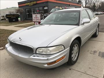 2000 Buick Park Avenue for sale at PANORAMA MOTORS in Livonia MI