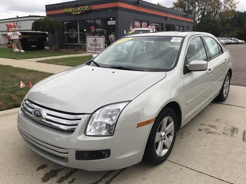 2008 Ford Fusion for sale at PANORAMA MOTORS in Livonia MI
