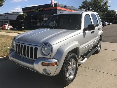 2002 Jeep Liberty for sale at PANORAMA MOTORS in Livonia MI