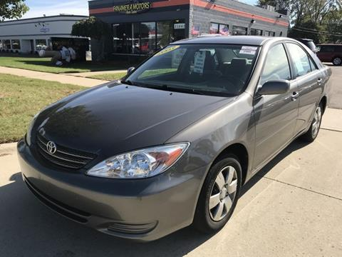 2003 Toyota Camry for sale at PANORAMA MOTORS in Livonia MI