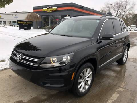 2017 Volkswagen Tiguan for sale in Livonia, MI