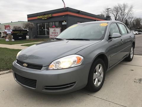 2007 Chevrolet Impala for sale at PANORAMA MOTORS in Livonia MI
