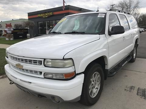 2002 Chevrolet Suburban for sale at PANORAMA MOTORS in Livonia MI