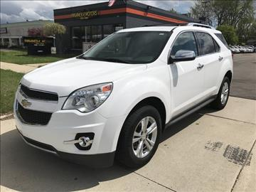 2010 Chevrolet Equinox for sale at PANORAMA MOTORS in Livonia MI