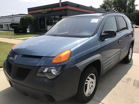 2001 Pontiac Aztek for sale in Livonia, MI