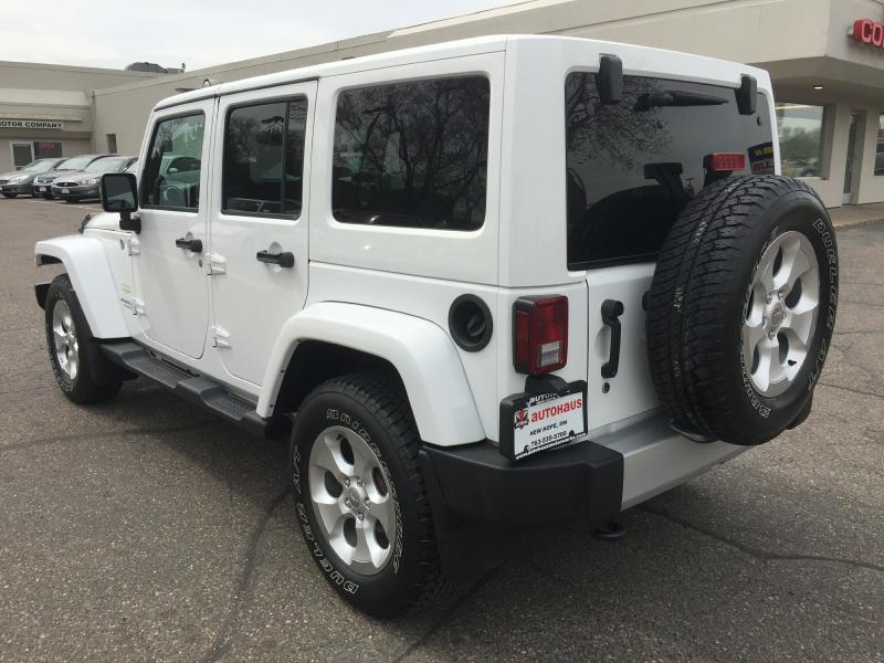 2013 Jeep Wrangler Unlimited 4x4 Sahara 4dr SUV - New Hope MN